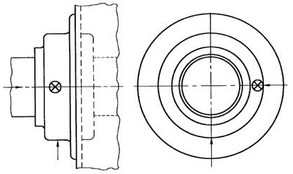 图1:用于电机的一端或两端推荐测量点