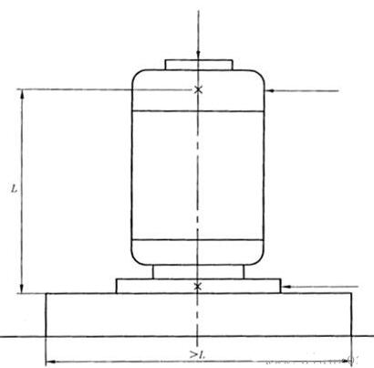 图4:立式电机的测量点
