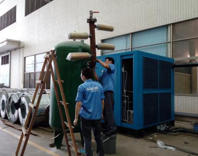 东莞电机厂高压软启空压机测试项目1