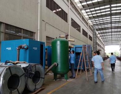 东莞电机厂高压软启空压机测试项目2