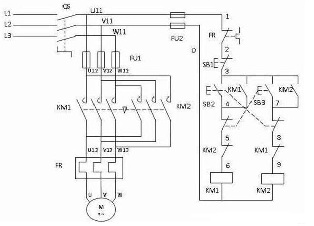 电动机互锁电路图