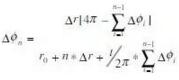 第N个2π/Z角时,其补偿角度大小
