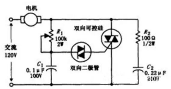 交流电机的控制电路