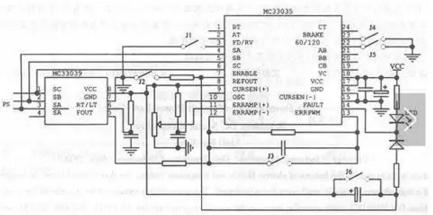 专用集成芯片的控制器电路图