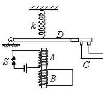 延时继电器构成原理图