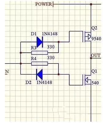 电机驱动电路设计详解 —电路图