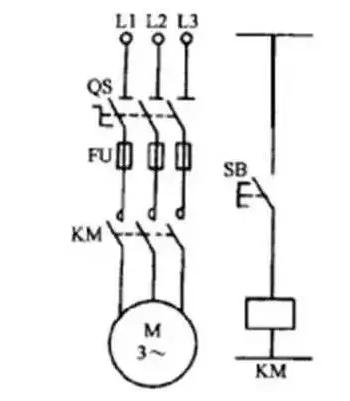 起动、自保控制电路的工作原理