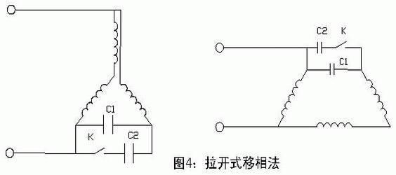 东莞电机拉开式移相法