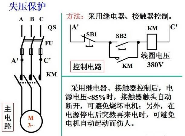 东莞电机失压保护